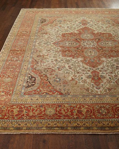 Exquisite Rugs Loren Serapi Rug, 6' x 9'