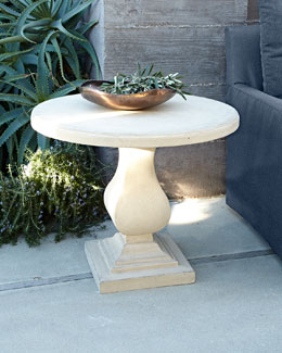 Iona Stonecast Outdoor Table