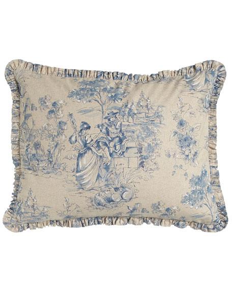 legacy elizabethan toile essex bedding. Black Bedroom Furniture Sets. Home Design Ideas
