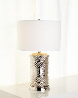 Global Nickel Table Lamp