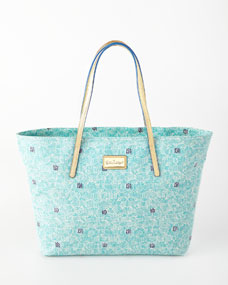 Lilly Pulitzer Shorely Blue Resort Tote