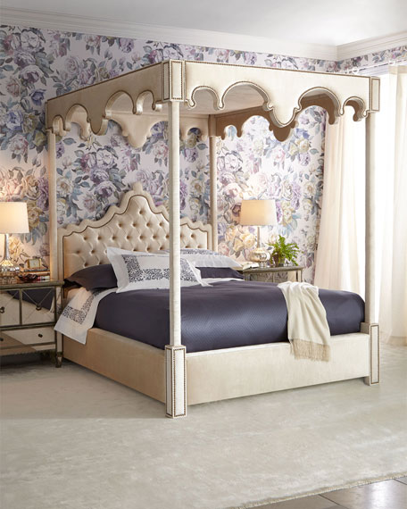 William California King Canopy Bed