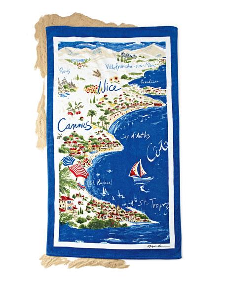 Riviera Destination Beach Towel