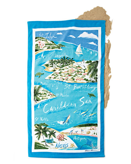fb6d8988b5 Ralph Lauren Home Caribbean Destination Beach Towel