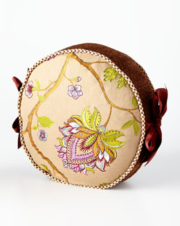 Bittersweet Round Pillow