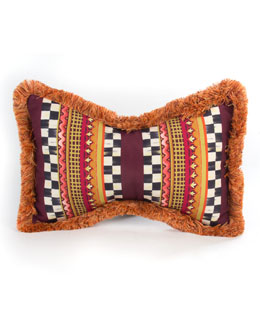 Sunset Outdoor Butterfly Accent Pillow