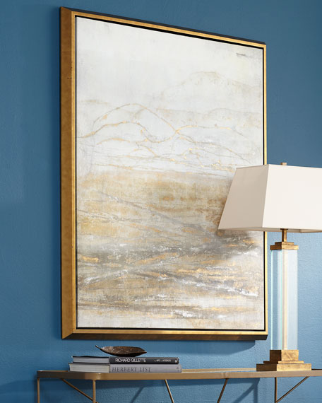 """Golden Horizon"" Giclee on Canvas Wall Art"
