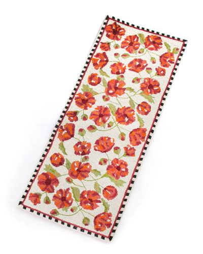 Trailing Flowers Centerpiece Table Runner