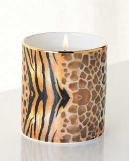 Magnificent Wildlife Filled Candle