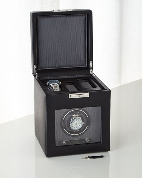 Viceroy Single Watch Winder with Storage
