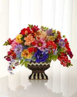 Cutting Garden Bright Floral Centerpiece