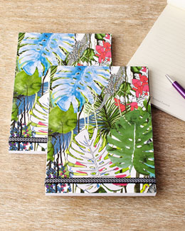 Large Exo-Chic Notebooks, Set of 3