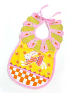 Toddler's Bunny Bib