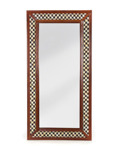 Courtly Expedition Floor Mirror