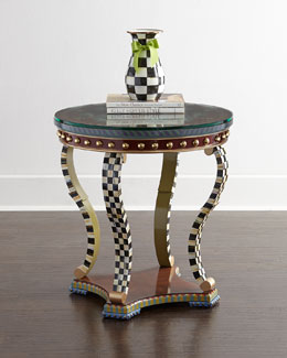 Highland Thistle Accent Table