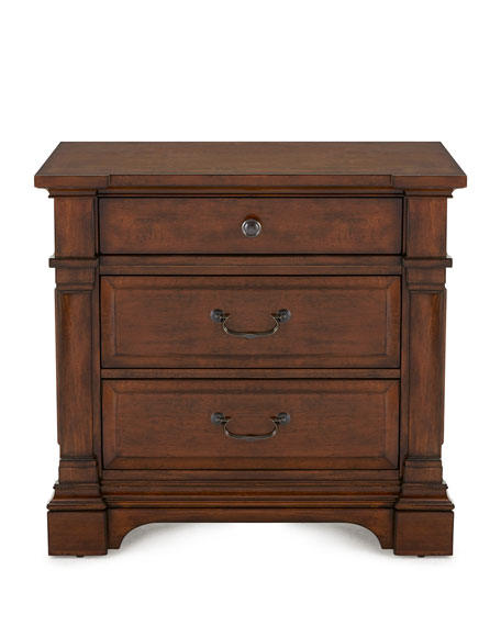 Ryland Three-Drawer Nightstand
