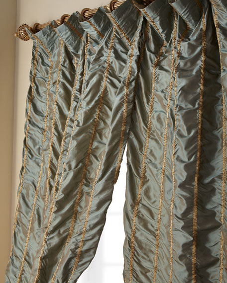 "108""L Kelly Curtain"