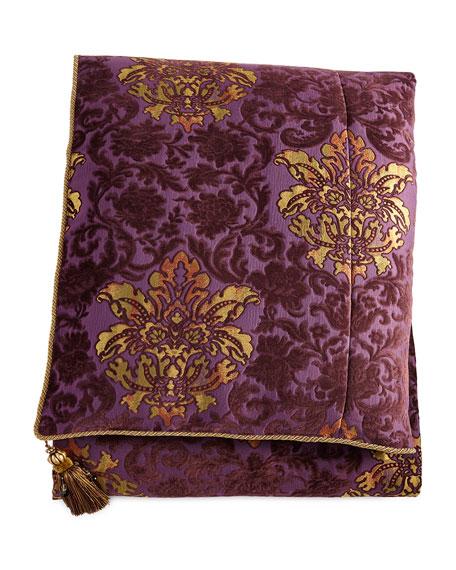 Royal Court Queen Floral Duvet Cover