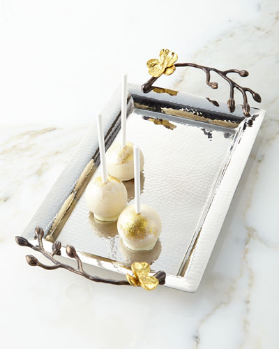 Gold Orchid Mini Tray