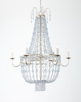Maris Six-Light Beaded Chandelier