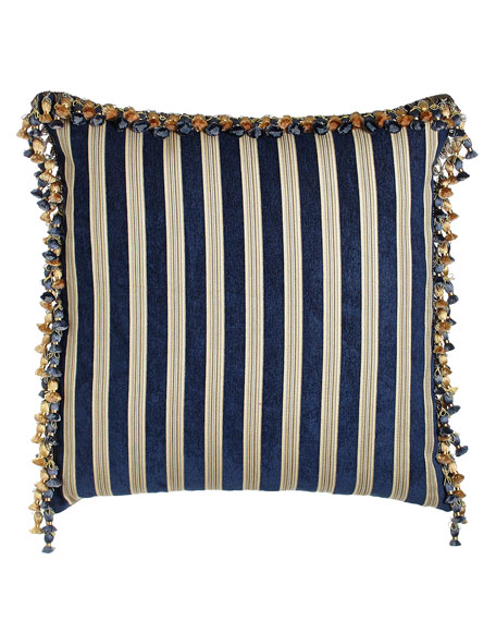 Concord Reversible European Sham with Onion Trim