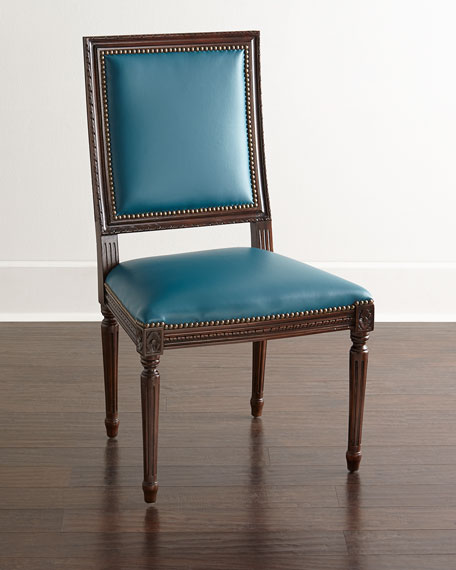 Ingram Leather Dining Chair, A9