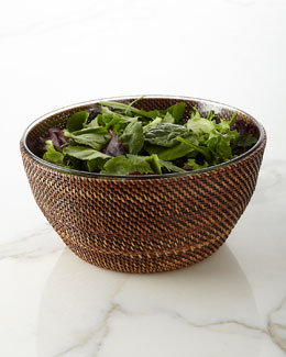 Handwoven Salad Bowl
