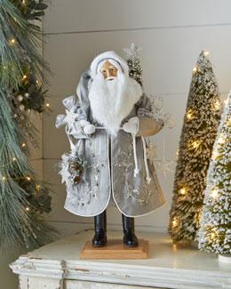 Snowflake Sparkle Santa