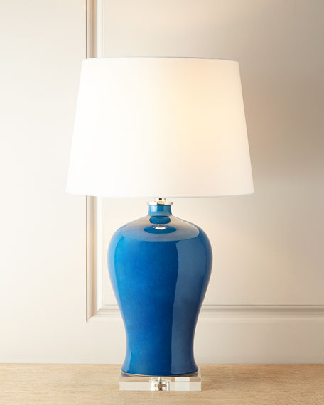 Port 68 Marilyn Turquoise Lamp