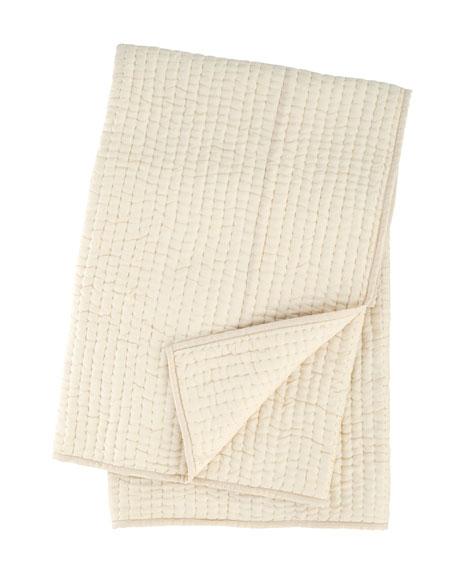Seta Quilted Silk Throw