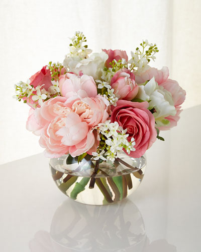 First Blush Faux Floral