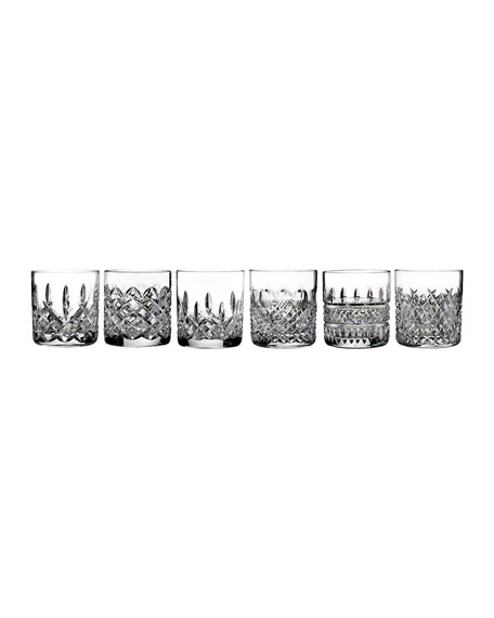 Waterford Crystal Heritage Assorted Tumblers, 6-Piece Set