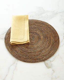 Round Placemats, Set of Four