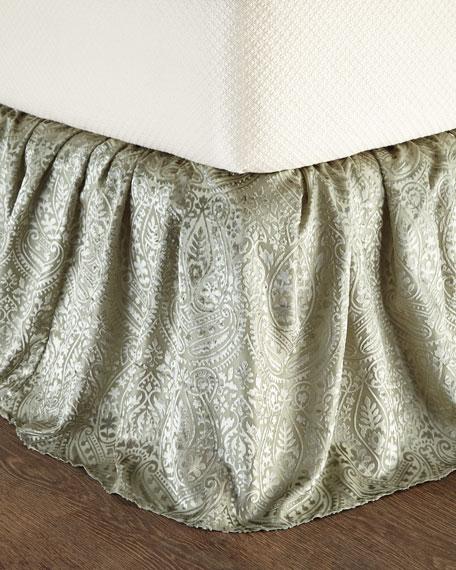 King Grazia Burnout Velvet Dust Skirt