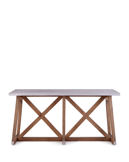 Brek Wall Table
