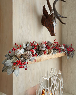 Winter Fantasy 6' Christmas Garland