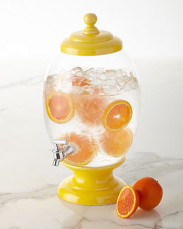 Glass Beverage Server