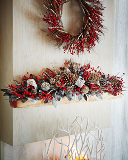 Winter Fantasy 6' Mantel Piece Decor