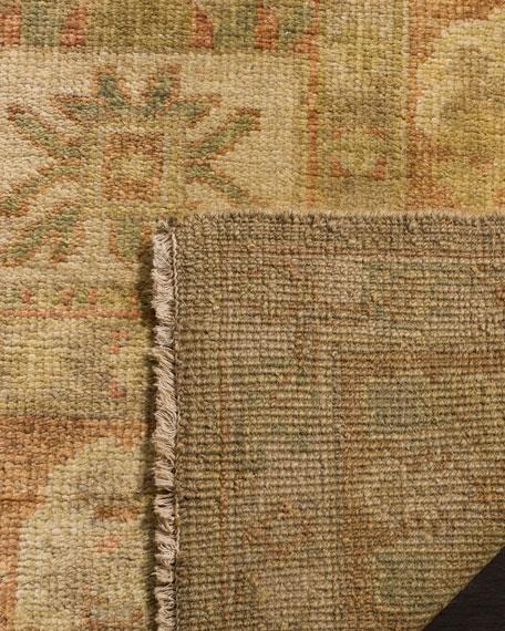 Eaton Hand Knotted Oushak Rug, 6' x 9'