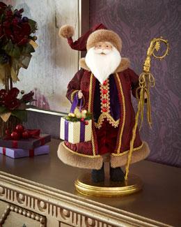 Burgundy Santa