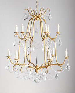 Marceline 12-Light Crystal Chandelier