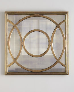 Circles Mirrored Wall Decor