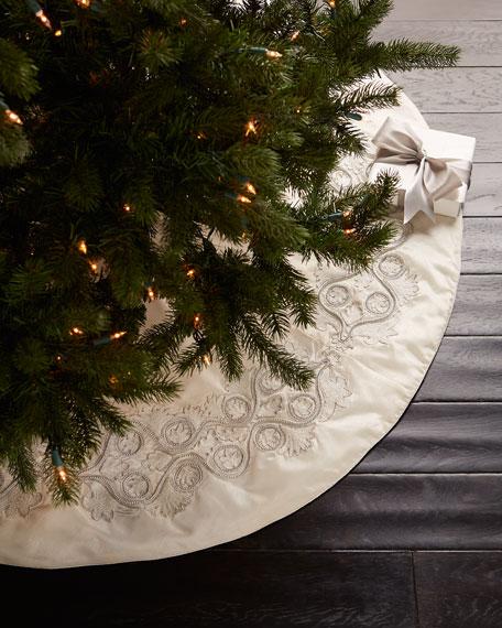 white christmas tree skirt - White Christmas Tree Skirt