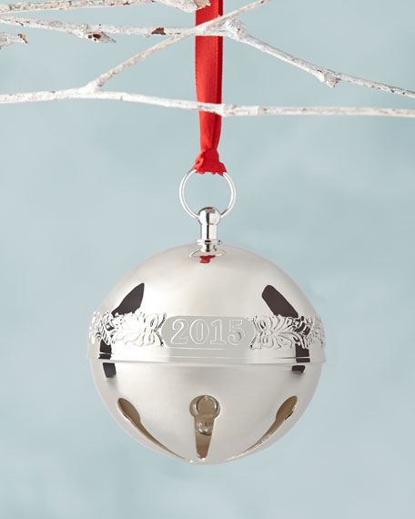 Wallace Silversmiths 2015 Silver Plated Sleigh Bell