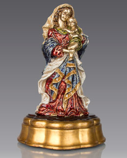 Madonna & Child Figurine