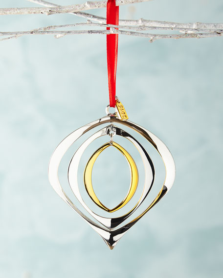 Nambe 2015 Annual Dated Christmas Ornament
