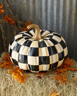Courtly Check Great Squash Pumpkin