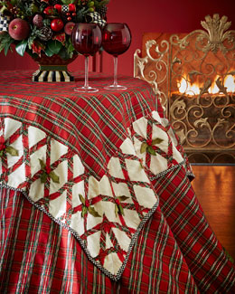 Tartan Yuletide Table Topper