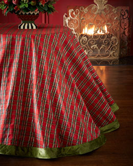 Tartan Yuletide Tablecloth