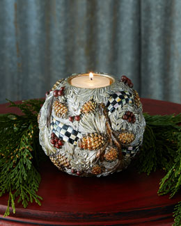 Winter Frost Votive Holder